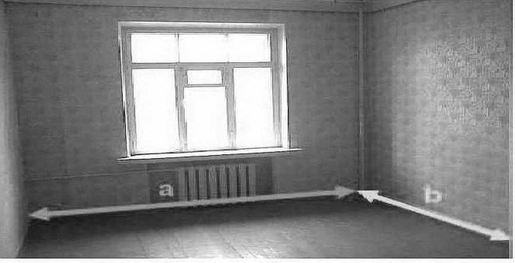 Можно найти площадь комнаты зная длину и ширину
