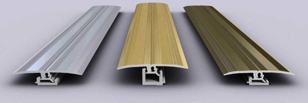 Вариант из алюминия для материалов разной толщины
