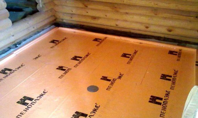 Наиболее распространенный теплоизоляционный материал под бетонный пол