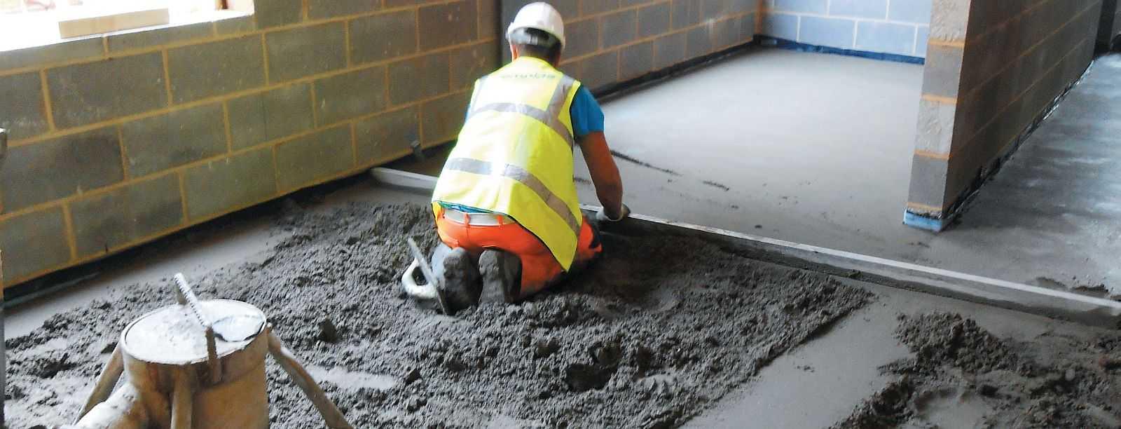 раствор для бетонных полов