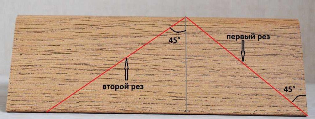 Как правильно оформить стык плинтуса и дверного косяка