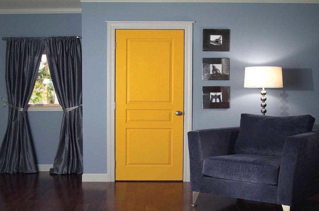 Цвет дверей далеко не всегда должен совпадать с цветом пола