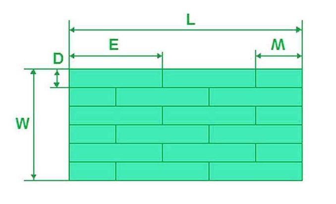 Виды укладки ламината подбираем по размеру помещения и длине доски