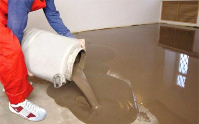 Наливные полы можно делать слоем от 1 мм до 15 мм