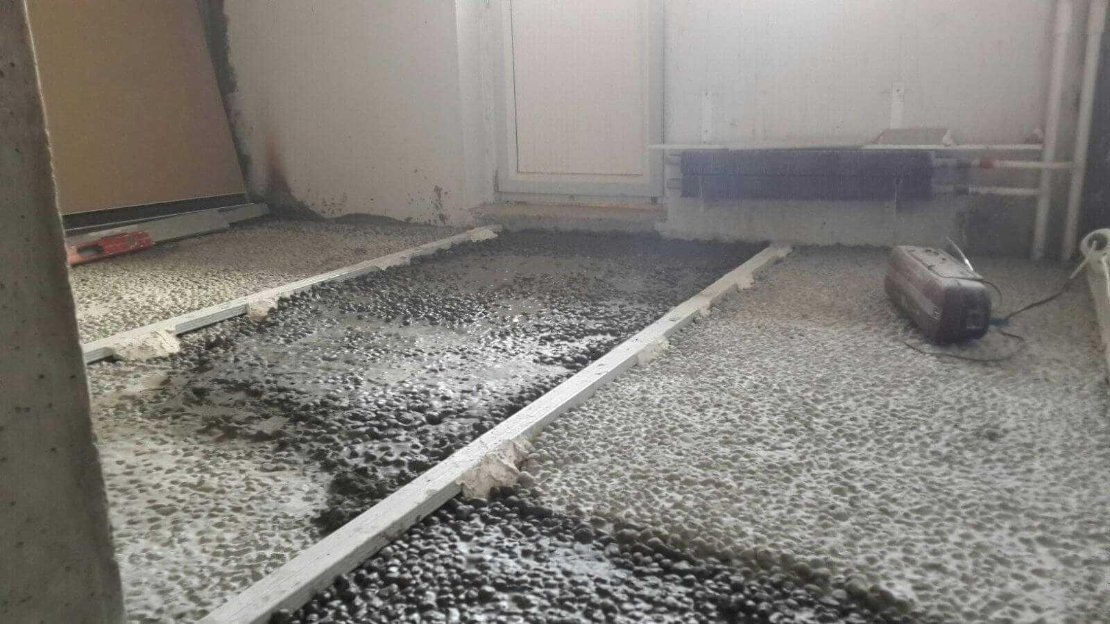 Керамзитобетон стяжка расценка марка бетонной смеси сжатие