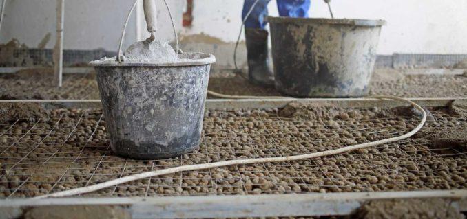 Замешивать раствор с керамзитом тяжело