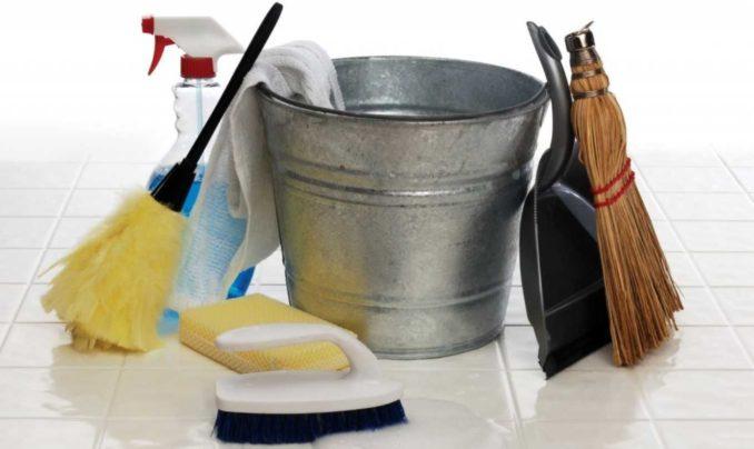 Чтобы отмыть пол после ремонта, не нужны дорогостоящие средства