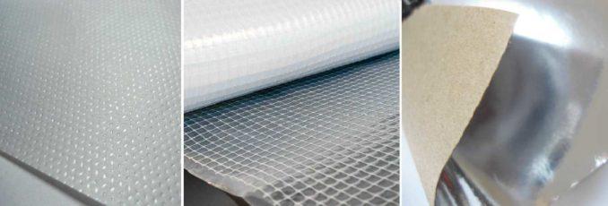 Виды пароизоляции: мембрана, пленка, с теплоотражением. Какой стороной класть пароизоляцию важно для мембран и материалов с блестящим напылением