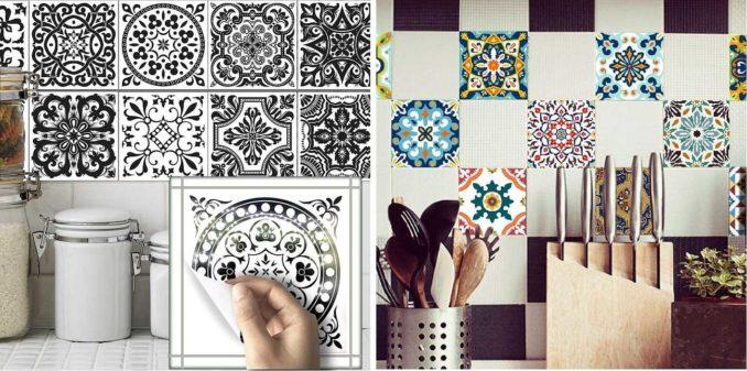 Способов обновить плитку на кухне или в ванной не так и много: покраска и поклейка виниловой или карбоновой пленки. Вот, пожалуй, и все