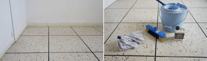 Как покрасить плитку в ванной своими руками. Начинается все скучно - с уборки