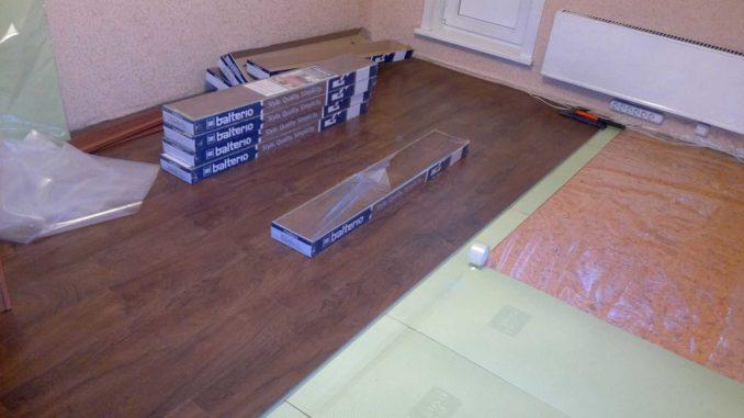 Рассчитать количество пачек ламината на комнату несложно