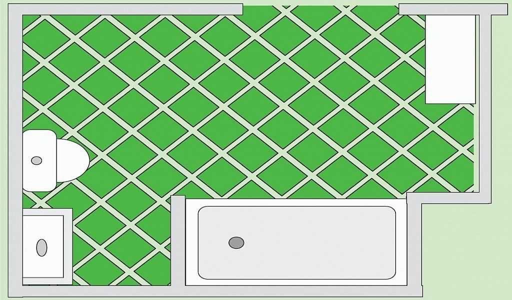 Как рассчитать плитку на пол при сложной укладке? Самый простой вариант - по площади