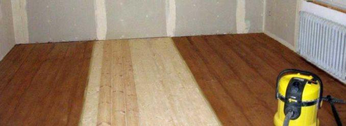 Если правильно заделать щели в деревянных полах, он будет радовать своим внешним видом