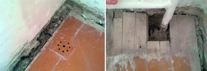 Чем и как заделать щель между деревянным полом и стеной
