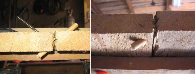 Как устранить щели в деревянном полу. Если они шатаются сначала их скрепляем
