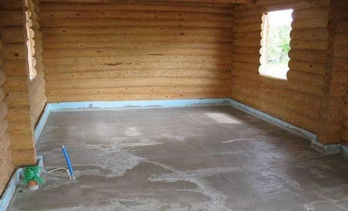 Утепление полов на даче по бетонной подготовке. Теперь можно либо напольное покрытие, либо листовой материал в два слоя