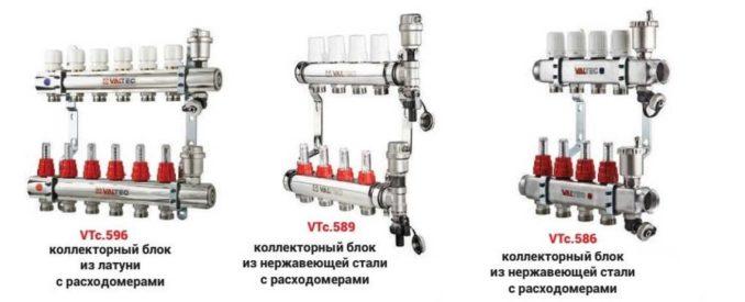 Коллектор теплого пола Valtec с расходомерами настраивать легче