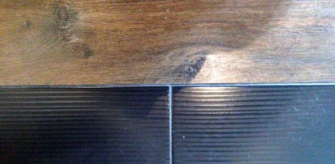Стыковочная планка для ламината и плитки не всегда в виде порожка