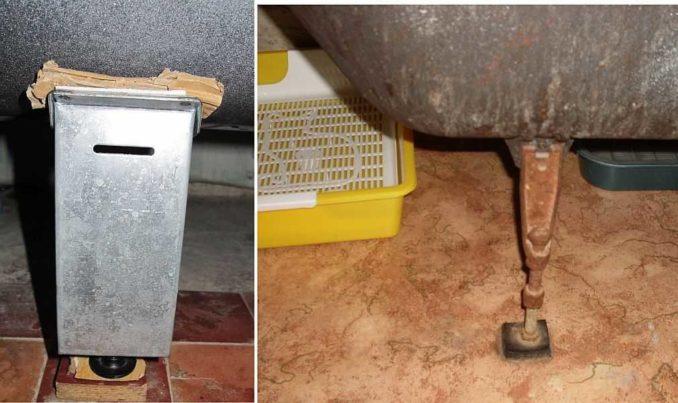 Подставки под ножки ванны