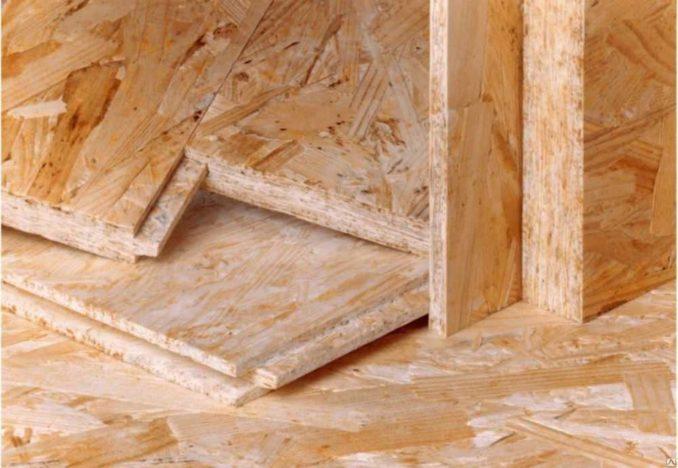 ОСБ есть разной толщины - от 6 мм до 40 мм