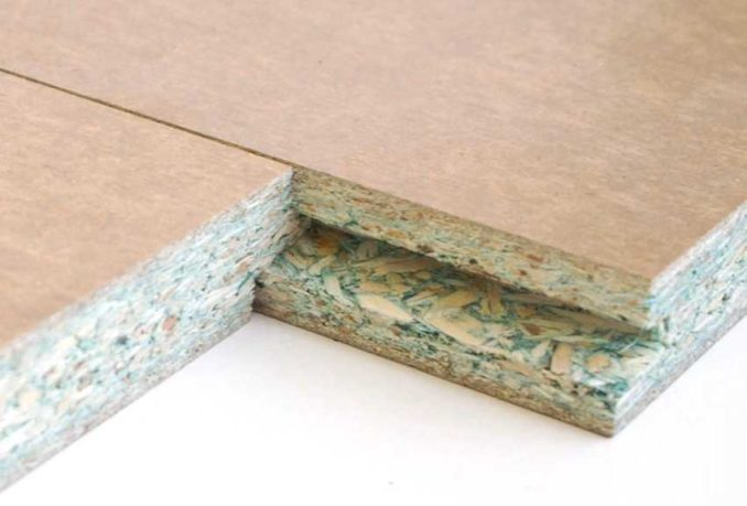 Сделать пол из ДСП удобнее и быстрее из шпунтованных плит