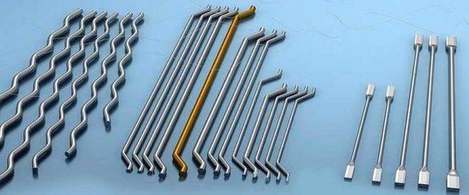 Примеры металлической фибры