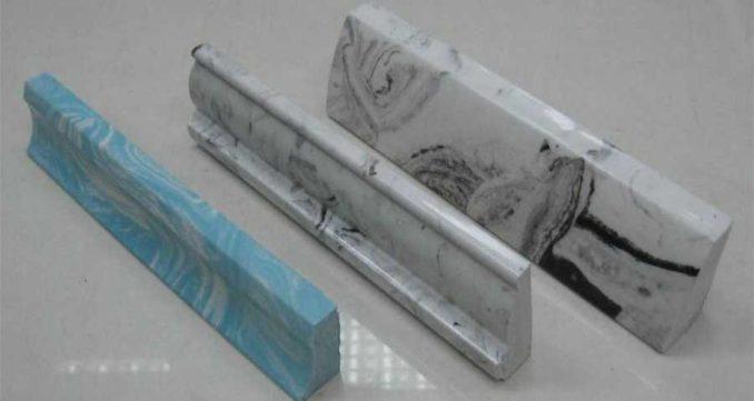 Это дорогие плинтуса для керамогранитного или плиточного пола