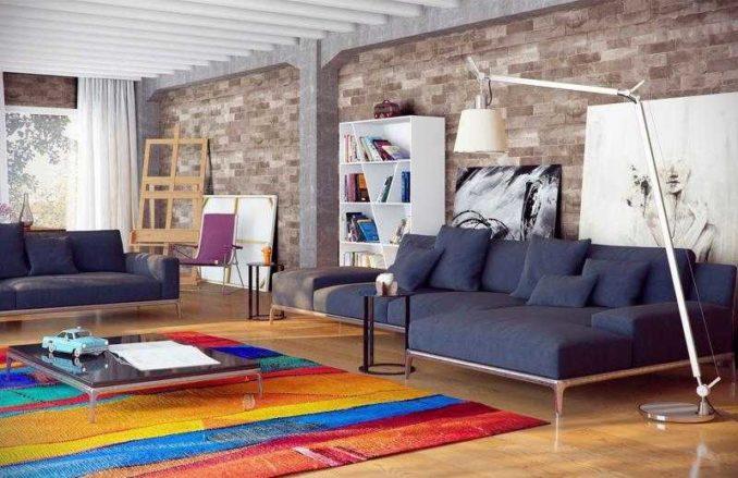 Некоторые ковры сами по себе - арт-объекты и именно они являются центром интерьера, а не мебель, стены или другие элементыобстановки