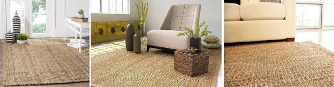 Джутовые ковры узнаваемы. Они недороги, практичны и не вызывают аллергии
