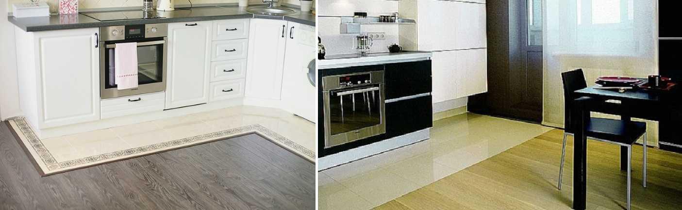 Что лучше плитка или ламинат. Что выбрать для кухни, коридора