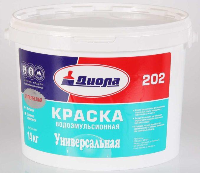 Чем красить плинтус из пенопласта полиуретана, дюрополимера - один из вариантов водоэмульсионная краска