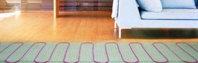 Ламинат - популярное покрытие. Особые виды можно укладывать на теплый пол