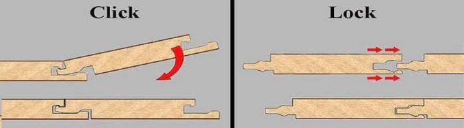 Как разобрать ламинат без повреждений: надо знать тип замка