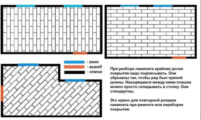Как разобрать ламинат чтобы его можно было потом снова настелить - рядами, аккуратно вынимая панели из замков