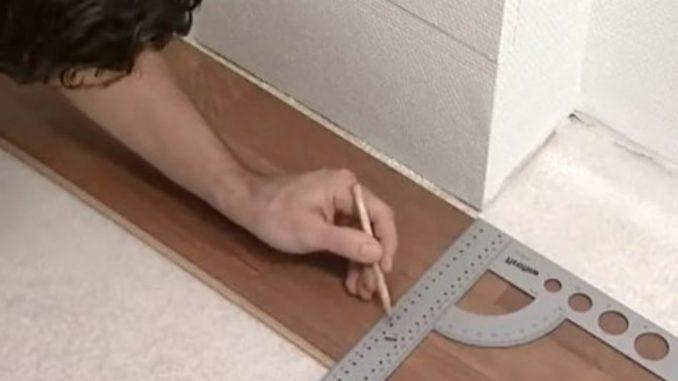 Что сначала ставить двери или ламинат