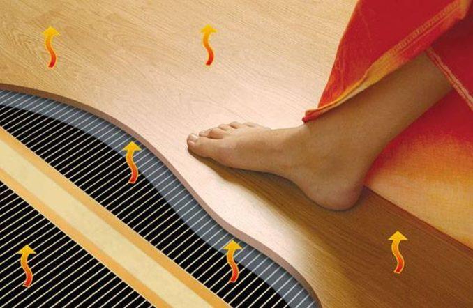 ОПтимальная и максимальная температура теплого пола под ламинат
