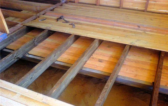 Как правильно сделать деревянный пол в доме