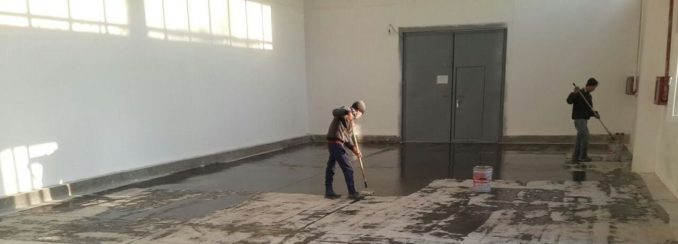 Как наносить грунтовку на бетонный пол