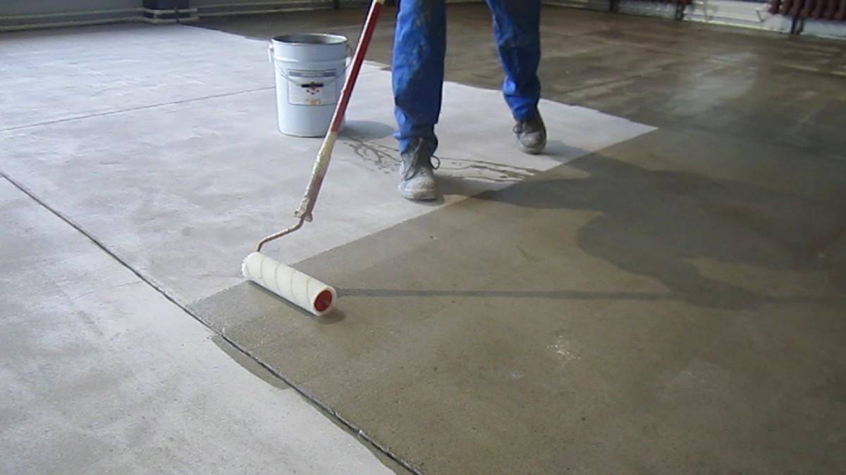Когда грунтовать бетон постройка из бетона