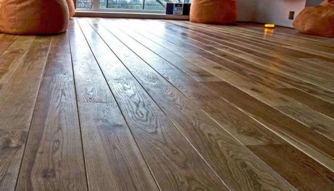 Так выглядит ухоженный деревянный пол