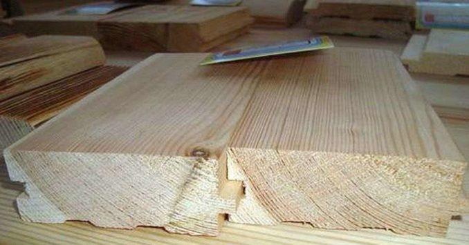 Последние десятилетия деревянный пол делают из доски с шипом и пазом