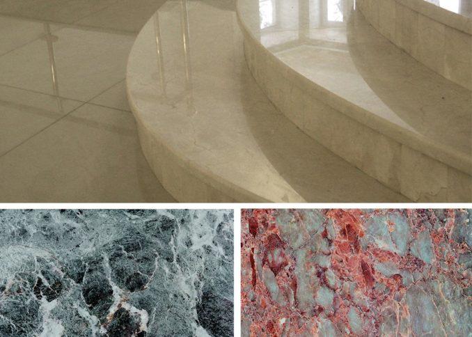 Полы из натурального камня: мрамор шикарен