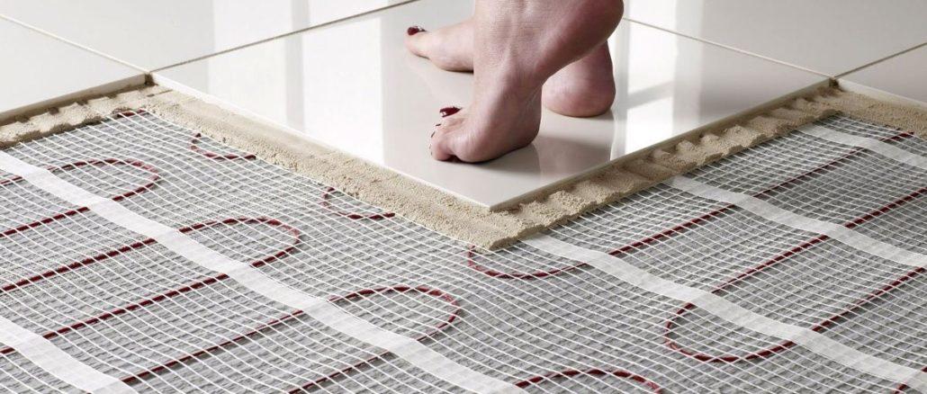 Укладка электрического теплого пола по плитку или кермогранит