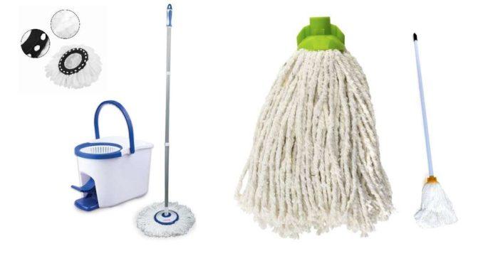 Чем можно мыть пол: выбор швабры