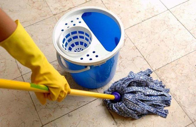 Как правильно мыть пол зависит от типа напольного покрытия