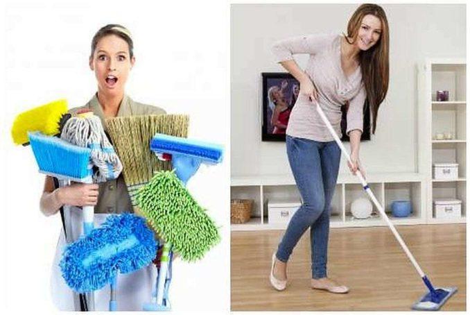 Выбор швабры влияет на качество уборки, время которое деля этого небободимо и на количество затраченных усилий