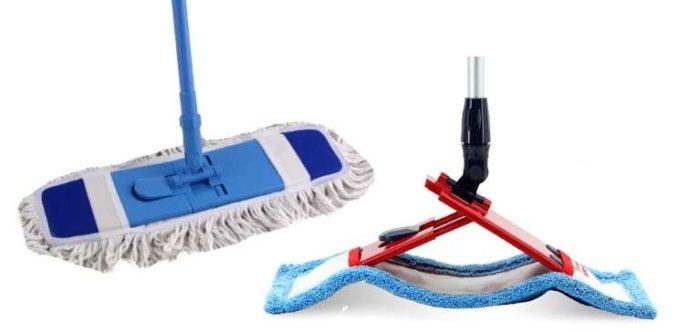 Чем можно мыть полы дома: выбираем швабру