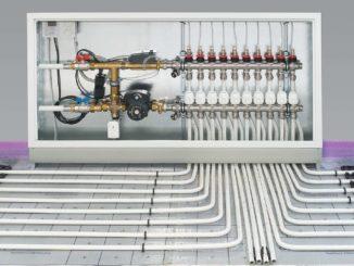 Необходимые компоненты теплого водяного