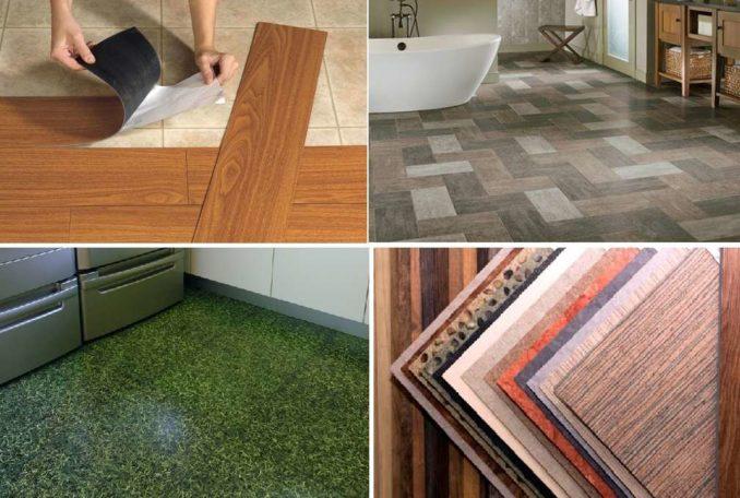 Что можно уложить на пол в ванной кроме плитки - винил или кварцвинил