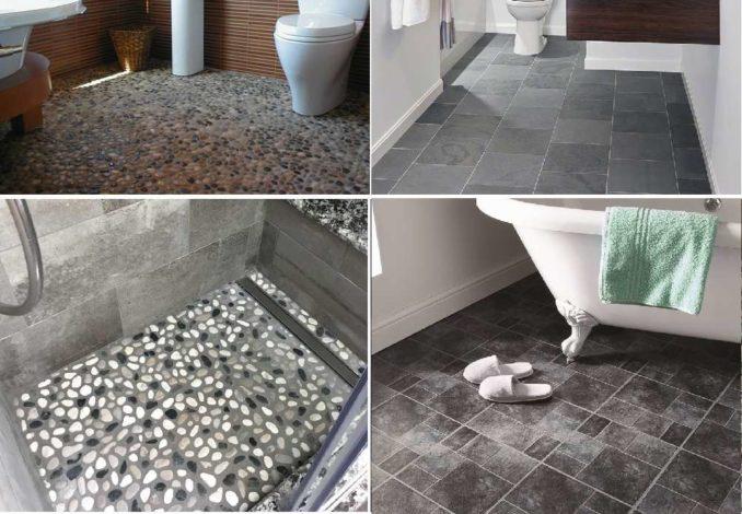 Каменный пол для ванной - есть разные по виду и стоимости варианты